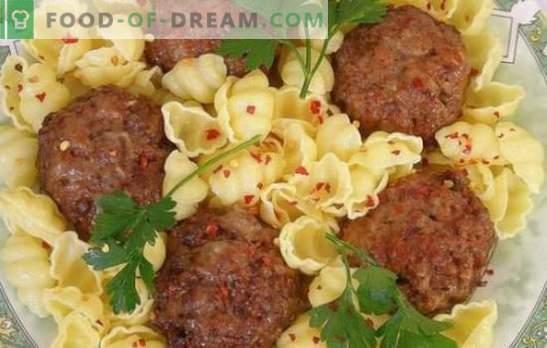 Contorni per polpette di carne - sono così diversi! Contorni di ricette per polpette di pesce, carne, pollo, fegato e verdure