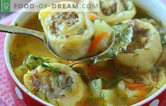 Gli gnocchi pigri sono un piatto preferito. Modi di cucinare gnocchi pigri: dal pane pita, in panna acida, con cavolo, con verdure
