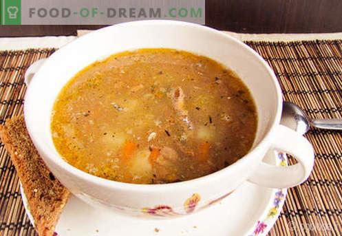 Saury Soup - ricette collaudate. Come cucinare correttamente e gustoso zuppa saury.