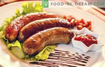 Kupaty in una pentola a cottura lenta - deliziose salsicce fatte in casa. Ricette kupat in una pentola a cottura lenta in salsa, con verdure, in pasta, al vapore