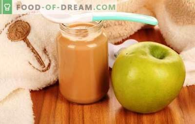 Purea di mele per bambini: come cucinare correttamente e gustoso. Ricette per purea di mele per neonati