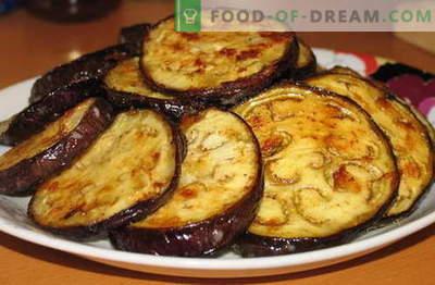 Bakłażan z czosnkiem - najlepsze przepisy. Jak prawidłowo i smacznie gotować bakłażan z czosnkiem.