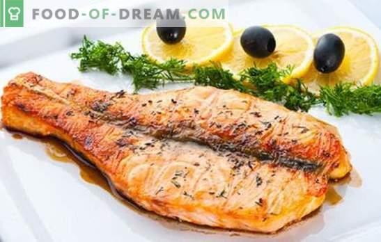 Ha provato il salmone rosa (in padella)? No? Le migliori ricette di salmone rosa, fritto in padella: con funghi, sotto la marinata, con verdure