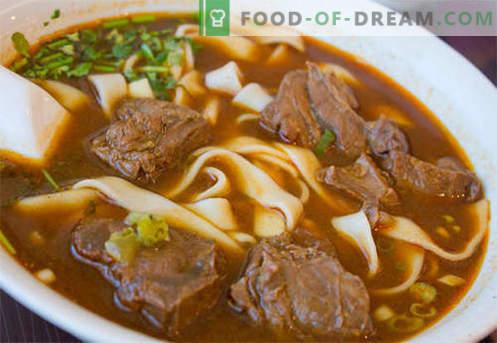Zuppa in brodo di manzo - le migliori ricette. Come cucinare correttamente e gustoso zuppa di brodo di manzo.