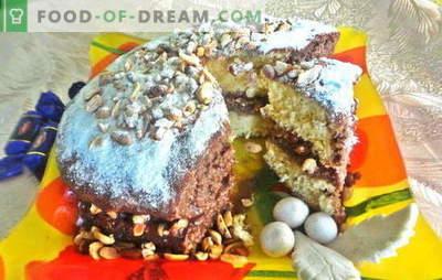 Вкусна торта за секоја прослава, долгоочекуваната - Snickers! Фото-рецепт за чекор-по-чекор готвење на торта