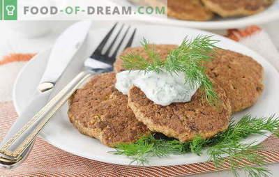 Buñuelos de hígado de ternera - ¡muy recomendable! Recetas para tortitas de hígado de res con champiñones, zanahorias, calabacín, queso