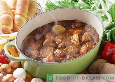 Stufato di maiale - le migliori ricette. Come cucinare correttamente e gustoso stufato di maiale.