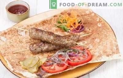 Kebab a casa è facile! Kebab di maiale fatto in casa, agnello, tacchino, pollo o manzo