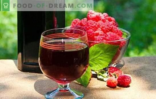 Vino lampone fatto in casa - un aroma inebriante! Riempi la dispensa con i vini della casa del lampone: le migliori ricette