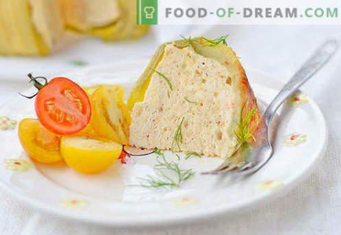Souffle per un bambino - le migliori ricette. Come preparare rapidamente e gustoso soufflé per un bambino.