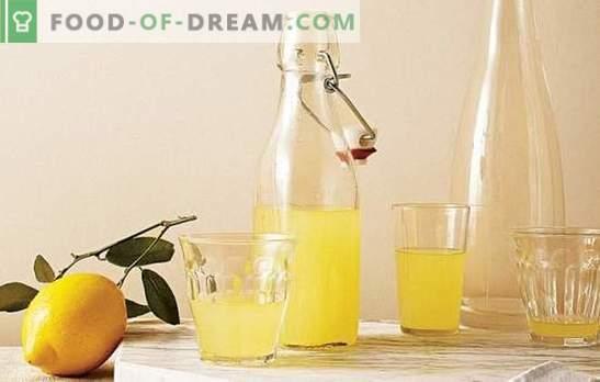 Tintura al limone: dettagli gustosi e affascinanti. Ricette delle tinture più popolari sul limone per la salute e il piacere