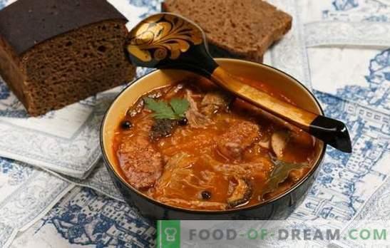 Tipici errori quando si cucina la zuppa. Perché zuppa insipida e brutta?