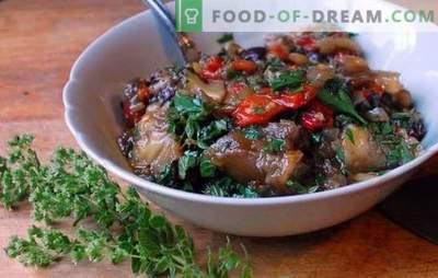 Col estofada con berenjenas - ¡la amistad fue un éxito! Recetas de repollo asado con berenjenas y pollo, papas, champiñones, verduras