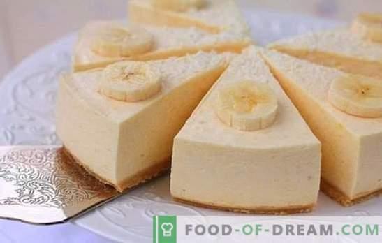Soufflé di banana - un dessert torbido con un aroma magico! Ricette semplici per soufflé di banana con ricotta, semolino, cioccolato
