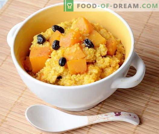 Porridge di mais - le migliori ricette. Come cucinare il porridge di mais.