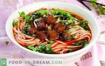 Laghman a casa - nutrizionalmente, gustoso, facile! Ricette e complessità del lagman fatto in casa cucinato con carne di manzo, agnello, maiale