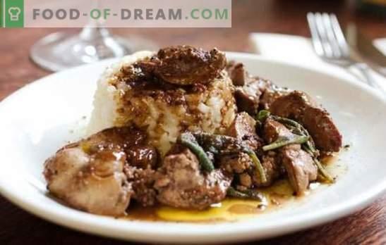 Fegato di pollo in una pentola a cottura lenta - molto veloce! Una selezione dei migliori piatti dal fegato di pollo in una pentola a cottura lenta