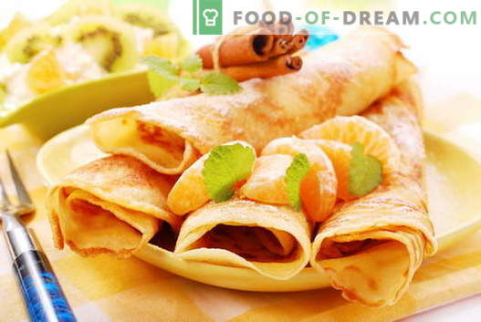 Pancakes senza uova - ricette collaudate. Come cucinare correttamente e gustosi i pancake senza uova.
