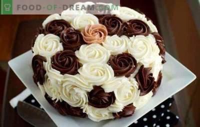 Крем за декориране на торти: най-добрите и оригинални рецепти. Как да направите всеки вид крем торта за декориране: инструкции стъпка по стъпка