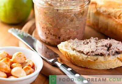 Varkensvleesleverpastei - de beste recepten. Hoe goed en smakelijk koken leverpastei.