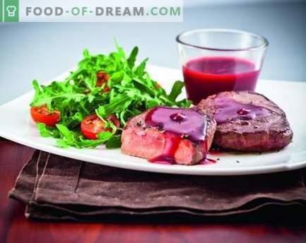 Сос от брусници - най-добрите рецепти. Как правилно и вкусно да се готви сос от боровинки.