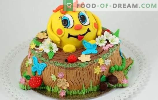 Torta per bambini con le proprie mani - per i più amati fidanzatini! Ricette torte fai-da-te per bambini semplici e belle