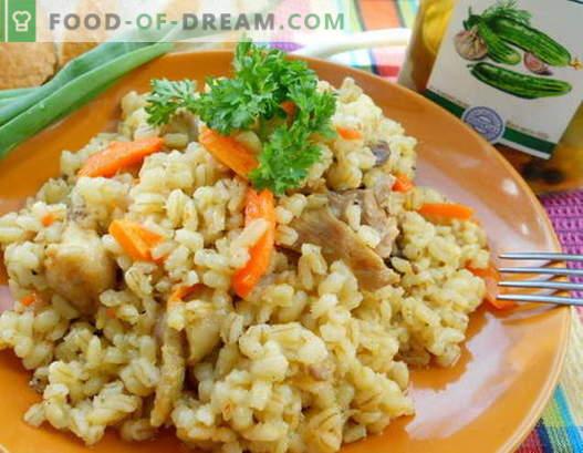 Porridge con carne - le migliori ricette. Come cucinare correttamente e gustoso porridge con carne.