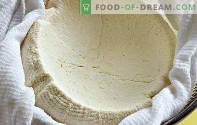 Come cucinare la ricotta dallo yogurt a casa: è - semplice. Ricotta fatta in casa dallo yogurt - gustosa e sana