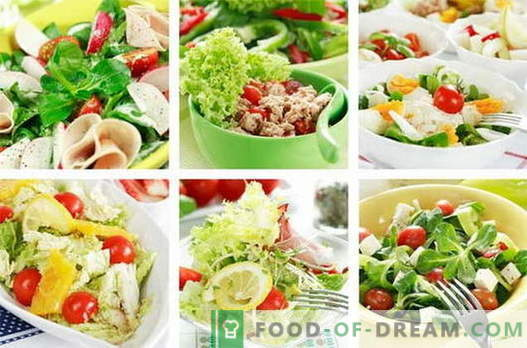 Le insalate di pollo sono le migliori ricette. Come cucinare le insalate di pollo.