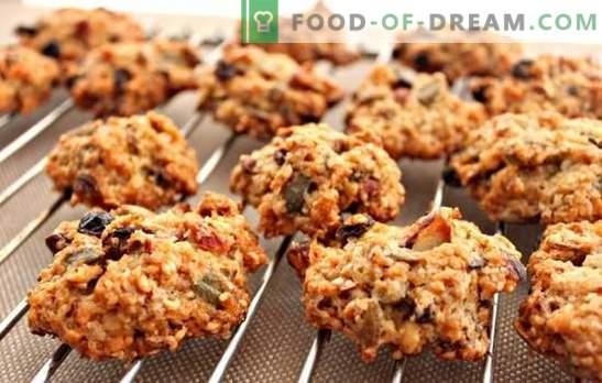 Galletas de avena sin hornear - ¡no se necesita el horno! Cocinando galletas de avena saludables y sabrosas sin hornear en casa