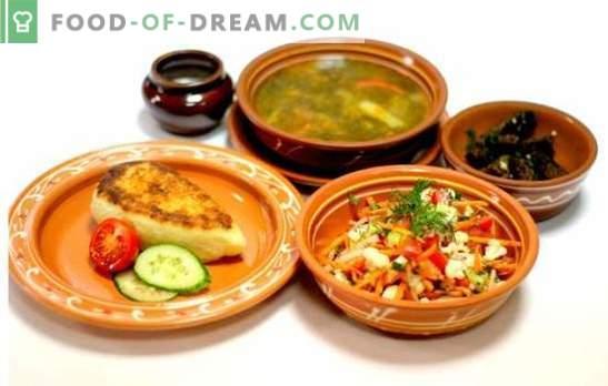 Pranzo a digiuno - ricette per un pasto completo per tutta la famiglia nel post. Varianti di pranzi della quaresima: veloce, cordiale e salutare