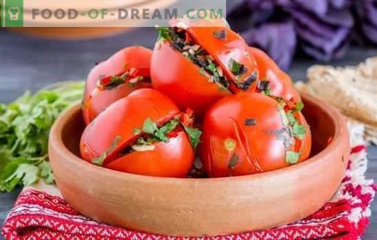 Pomodori in armeno: pomodori ripieni piccanti e speziati. Le migliori ricette tradizionali di pomodori in Armenian