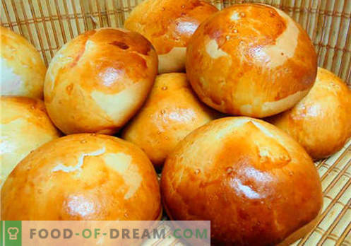 Panini - le migliori ricette. Come usare correttamente e gustoso i panini a casa