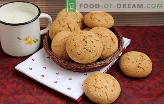 Biscotti di farina d'avena senza scaglie - le ricette più deliziose. Dolci utili e gustosi: biscotti d'avena senza cereali