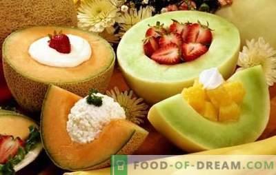 I dessert al melone sono una prelibatezza aromatica per i denti dolci. Una selezione delle migliori ricette per dolci al melone