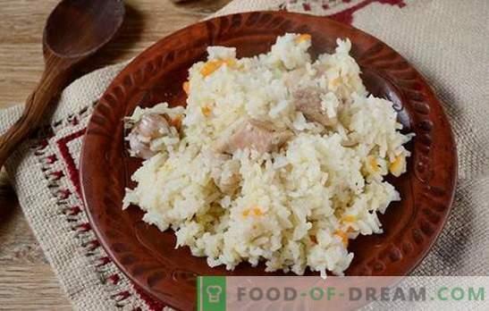 Pilaf di maiale: non kosher, non dietetico, ma incredibilmente gustoso! Ricetta fotografica dettagliata dell'autore di fragrante pilaf con maiale