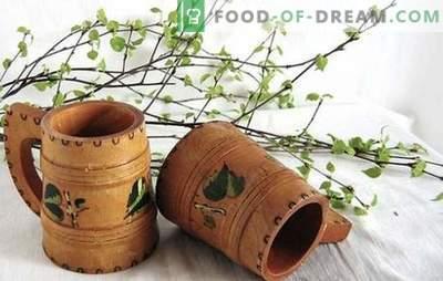Il kvas di betulla con uvetta è una bevanda vitaminica originale. Le migliori ricette per kvas di betulla con uvetta