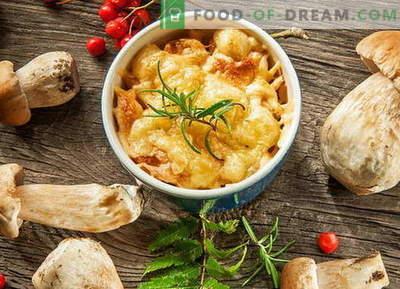 Julienne di pollo con funghi - le migliori ricette. Come cucinare la julienne di pollo.