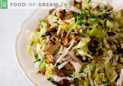Insalata di primavera - una selezione delle migliori ricette. Come cucinare correttamente e gustosa insalata di primavera.