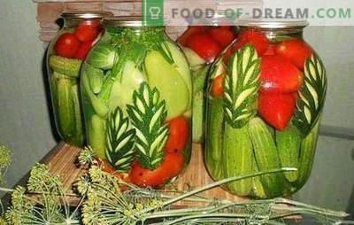 Cetrioli assortiti: come si fa? Scegli la marinata per cetrioli assortiti con pomodori, cavolfiori, zucchine, peperoni dolci