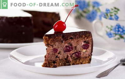 Torta di ciliegie ubriaca a casa - Non osare! Ricetta torta
