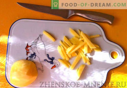 Zuppa di funghi - una ricetta con foto e descrizione passo passo