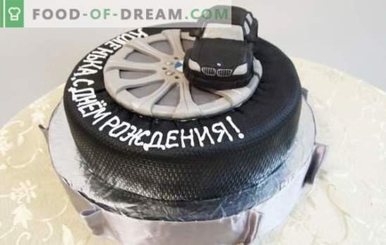 Una torta di compleanno per un uomo è il regalo più dolce! Una selezione di torte diverse per uomini per il compleanno