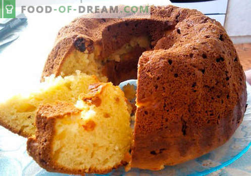 Cupcake semplice - le migliori ricette. Come cucinare rapidamente e gustoso un semplice cupcake.