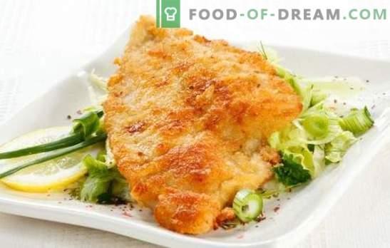 La tilapia in pastella è un pesce delicato in crosta croccante. Una selezione delle migliori ricette tilapia in pastella: birra, formaggio, uovo