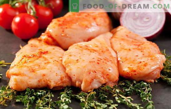 Friggere, stufare, cuocere - pollo marinato in tutto il suo splendore. Creiamo favolosi piatti di pollo sott'aceto