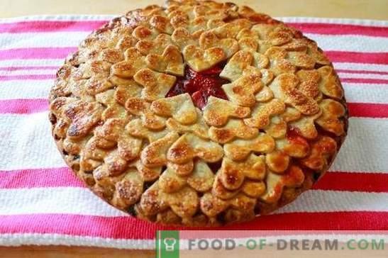 L'estate ci coccola con molti volti con torte alla fragola (ricette con foto). Varianti di diverse torte di fragole: lievito, gelatina, sabbioso