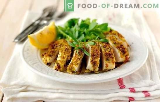 petto di pollo veloce e gustoso - è possibile! Ricette di petto di pollo veloci e gustose nel forno, fornello lento, nella padella