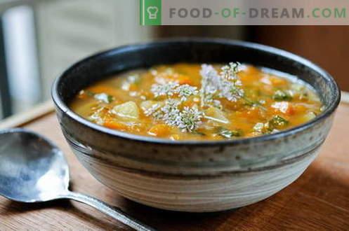 Zuppa di pollo - le migliori ricette. Come cucinare correttamente e gustoso zuppa di pollo.
