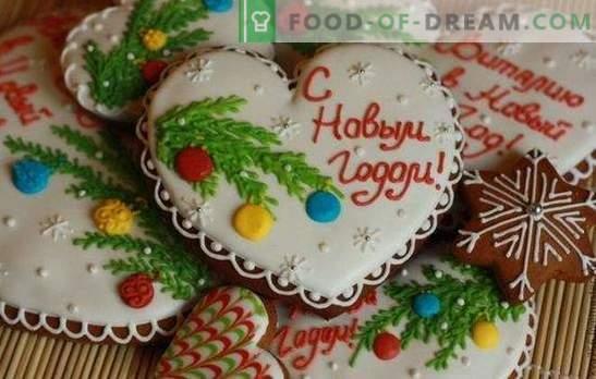 Pan di zenzero di Natale - decorazione, souvenir e semplicemente buonissimi! Ricette tradizionali e di fantasia per il panpepato di Natale